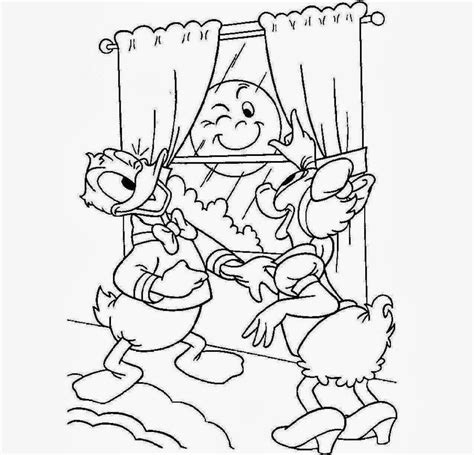 sunny daisy coloring page colour drawing free wallpaper daisy and donald duck