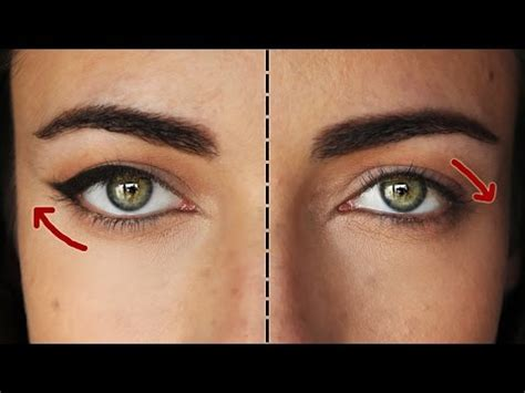 eyeliner tutorial for droopy eyes how to the perfect eyeliner for downturned eyes
