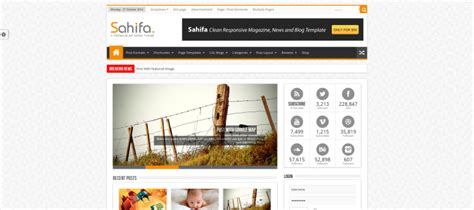 sahifa theme test wordpress premium magazine themes pressengers