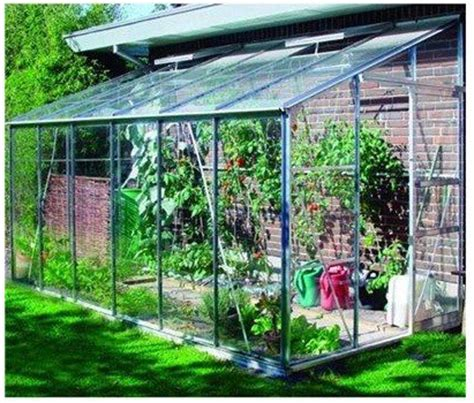 eden greenhouses horticultural glass lean  greenhouse