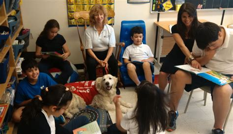 teacher flashes students students go to the dog for best lessons