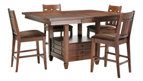 our new kitchen table and chairs from slumberland for