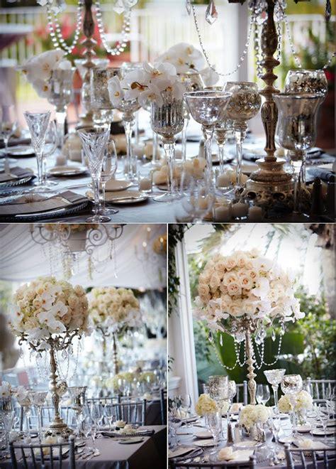 l decoration d 233 coration de mariage th 232 me blanc et diamants d 233 coration