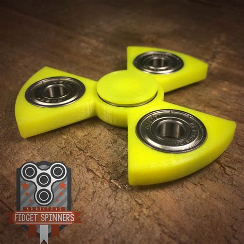 Fidget Spinner Toys edc spinner radioactive bar fidget with caps