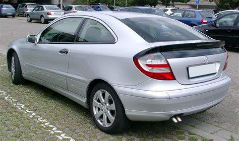file mercedes w203 coupe rear 20080709 jpg