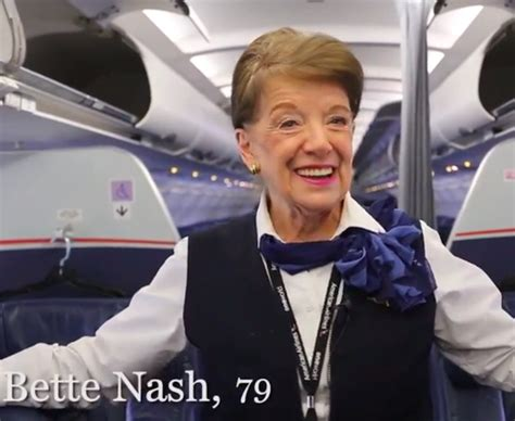 Delta Cabin Crew Salary by Meet The Most Senior Flight Attendant In The World One