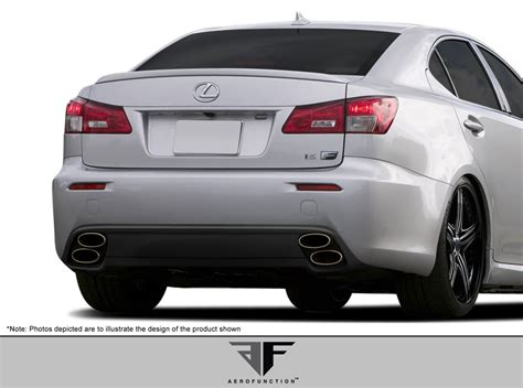 lexus rear bumper 08 14 lexus is f af 1 aero function gfk rear bumper
