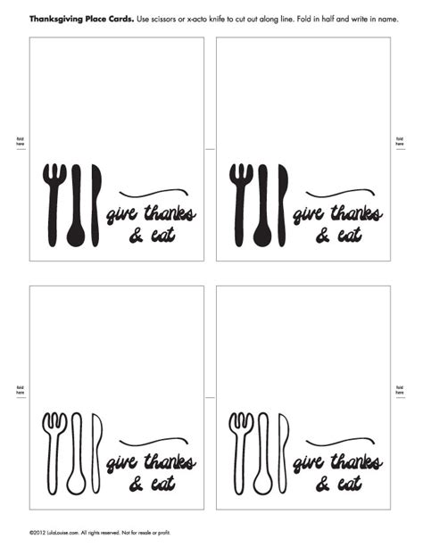 printable thanksgiving place cards templates black white free printable thanksgiving placecards sew diy