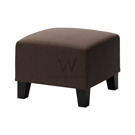 covered ottoman brown fabric covered ottoman plain wooddesignes