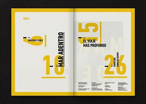 layout inspiration design editorial design inspiration david lynch