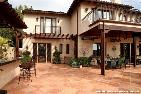 patio in spanish spanish style outdoor patio paving for rustic patio and
