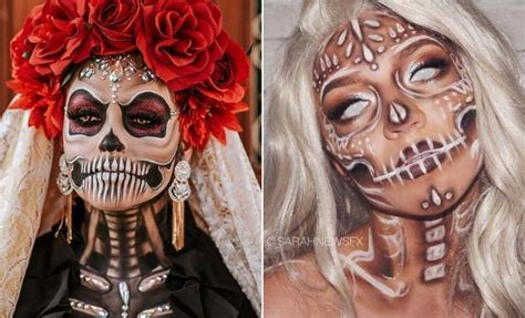 sugar skull makeup ideas  halloween stayglam
