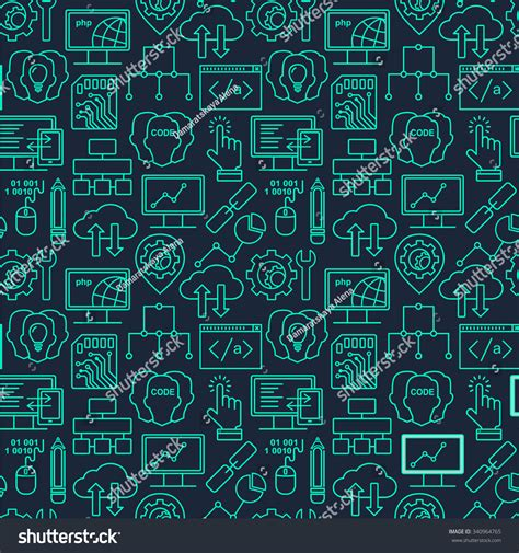 background pattern html code internet technology programming seamless background linear