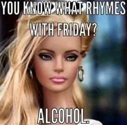 Friday Funny Memes - you know what rhymes with friday meme jokes memes