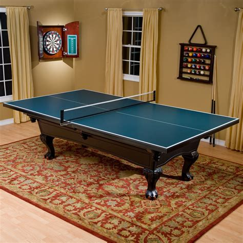 pool table conversion top butterfly pool table 3 4 in table tennis conversion top
