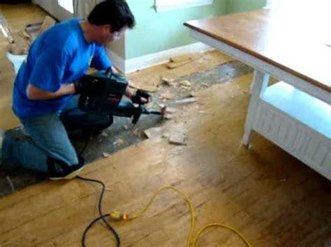 how to remove hardwood floors mpg