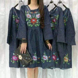 Bordir Baju baju blouse bordir ab2646 habis limited fashion