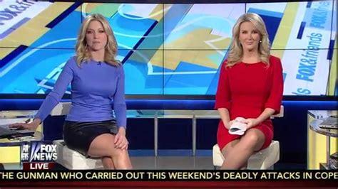 short skirt on fox news ainsley earhardt black leather skirt youtube