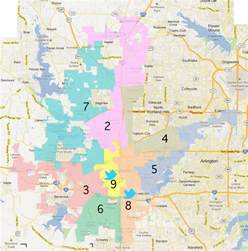 fort worth maps fort worth city council rep representation