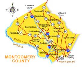 map montgomery county montgomery county real estate is to dc and offers
