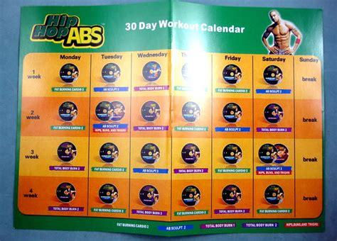 Hip Hop Abs Calendar Hip Hop Abs Review Detailed And Unbiased