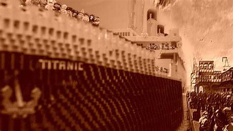 film titanic lego lego titanic youtube