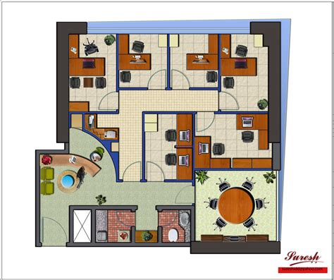 layout of office design office layout gharexpert