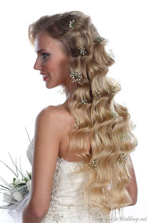 bridal hairstyles online long curly bridal hairstyles