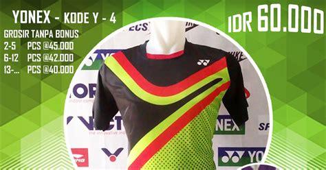 Baju Kaos Olah Raga Victor V203 Baju Pakaian Olah Raga Go Import baju kaos kostum seragam pakaian bulutangkis badminton yonex edisi vector 2016 baju
