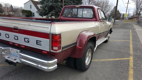 93 dodge dually 1993 dodge ram 350 dually diesel no reserve for sale
