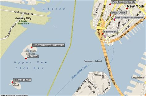 map new york harbor let s go to new york city a webquest