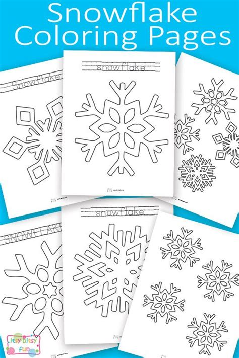 printable numbered snowflakes snowflake coloring pages coloring i am and for kids