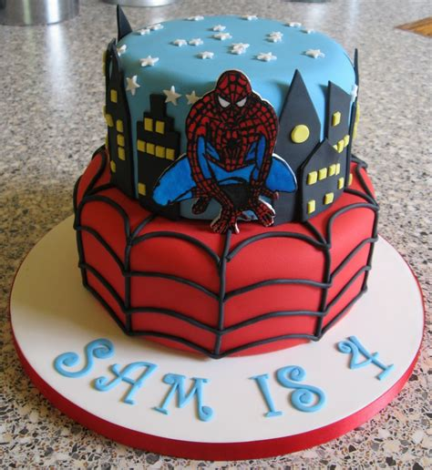 spiderman cakes decoration ideas  birthday cakes
