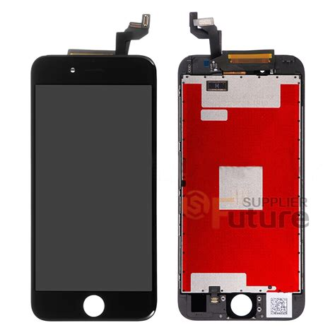 apple iphone 6s plus lcd digitizer assembly with frame black