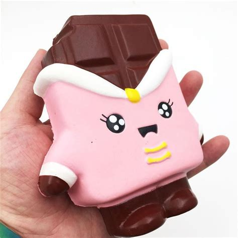 Chocolate Squishy squishyfun kawaii squishies chocolate bar squishy