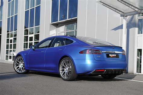 Brabus Tesla Brabus Begins Tesla Model S Tunes With Cosmetic Surgery