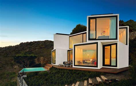 diseos de casas en terrenos inclinados casa con planta