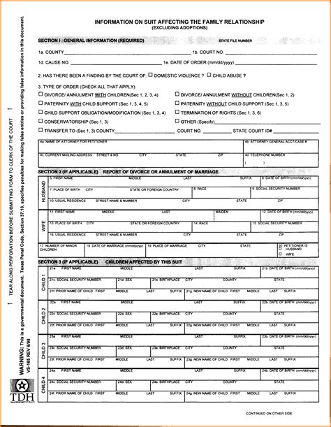 Florida Divorce Records Search Free Printable Divorce Papers Florida Free Forms Sle