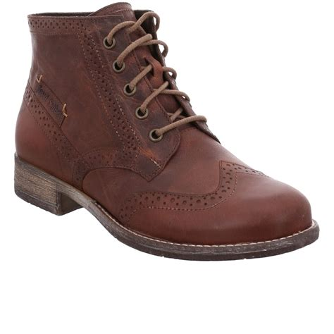 josef seibel boots josef seibel 15 womens brogue ankle boots