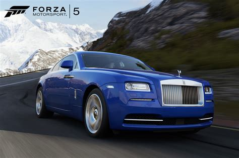 rolls royce wraith in forza motorsports 5 front three