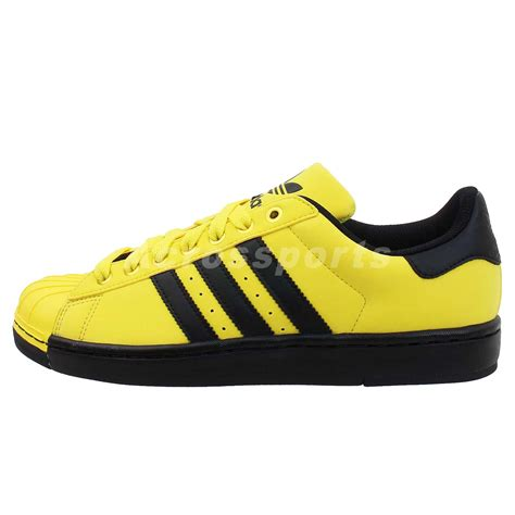 Adidas Superstar Size 25 30 adidas originals superstar ii 2 lite yellow black 2013 new