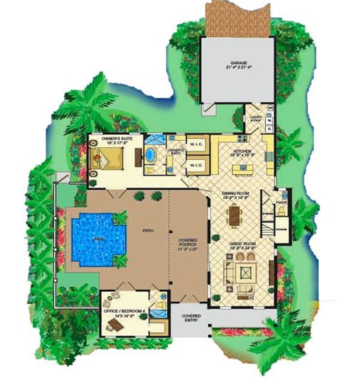 green home house plans