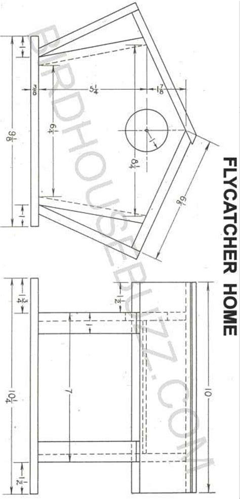 Chickadee House Plans Chickadee Birdhouse Plans Find House Plans