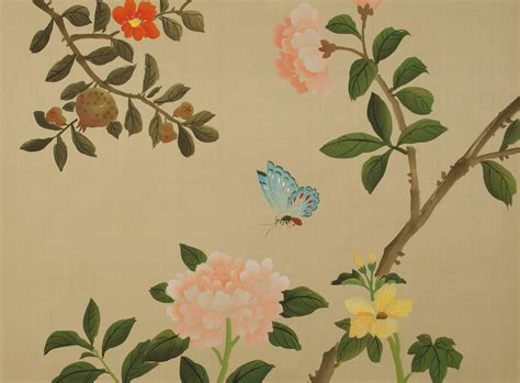 chinoiserie wallpaper uk blue colourways chinoiserie handmade wallpaper fromental