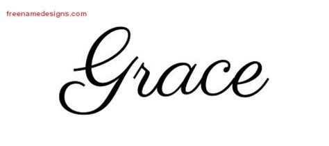 grace name tattoo designs classic name designs grace graphic free