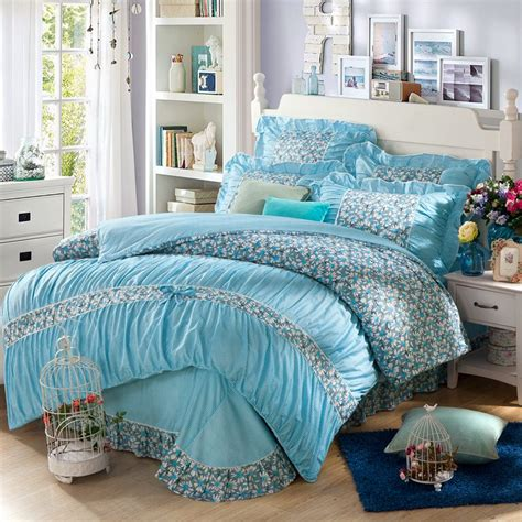 bedroom set twin size girls price 800 in summerville georgia cannonads com yadidi 100 cotton girls princess blue bedding set bedroom