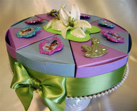 disney princess and the frog princess birthday favor