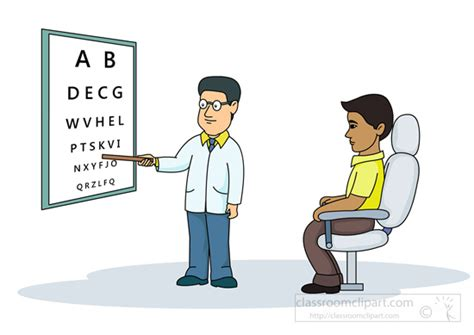 Eye Background Check Clipart At Eye Clinic For Eye Check Up Classroom Clipart