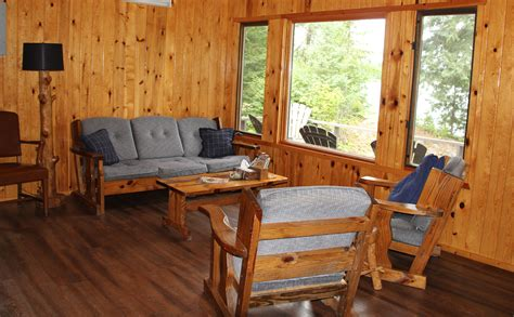 lodge living room furniture dream maker cabin on first connecticut lake pittsburg nh