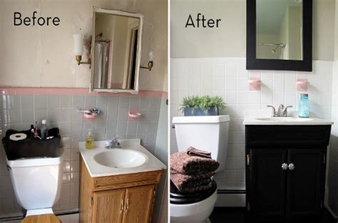bathroom makeovers before and after small bathroom makeovers before and after home design